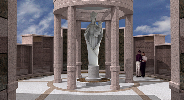 Holy Cross Cemetery Columbarium Addition