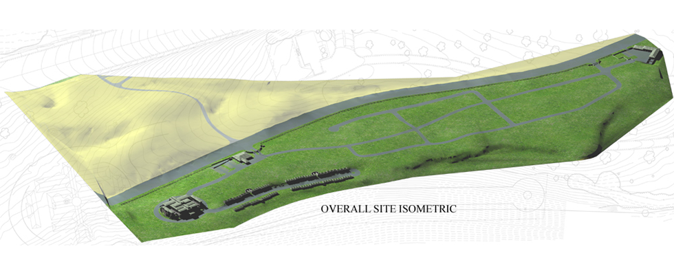 Holy Sepulcher Cemetery Master Plan Birds Eye View