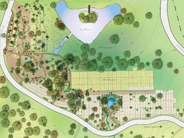 Windridge Memorial Park New Section Master Plan