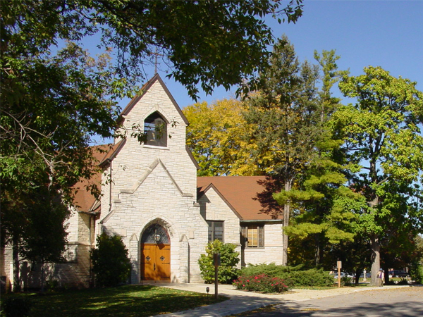 Village Presbyterian Church Front Entrance