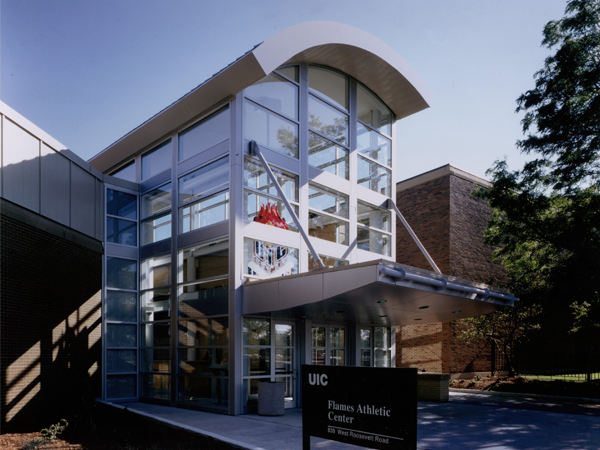 UIC Flames Athletic Center Exterior
